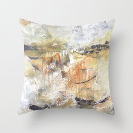 Stormy Times Past, Moving Forward Throw Pillow