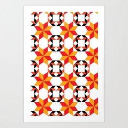 Fuego - By  SewMoni Art Print