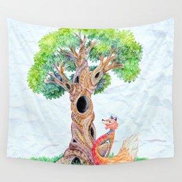 The Spirit Tree V2 Wall Tapestry