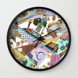 """Dysfunctional Dollhouse| Wall Clock"