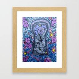Unlock the Possibilities. Framed Art Print