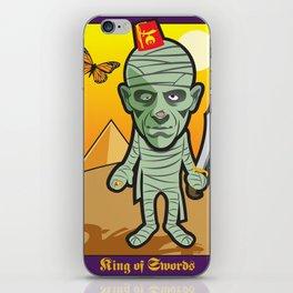 King of Swords iPhone Skin