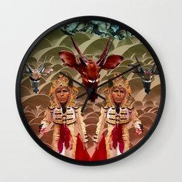 Spectator's Delight Wall Clock