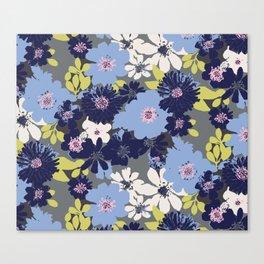 Ava Summer Blue Canvas Print