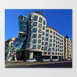 Dancing House | Frank Gehry | architect Canvas Print