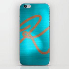 Metallic K iPhone Skin