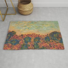 Flowers of Provence Rug