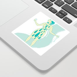 Watergirl Sticker