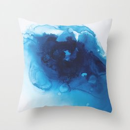 Vishuddha (Throat Chakra) Throw Pillow