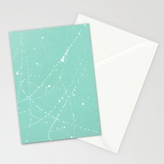 Dazed + Confused [Turquoise] Stationery Cards