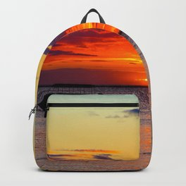 Boat Silhouette Backpack