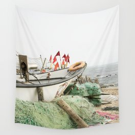 Fishing tackle IV Wall Tapestry