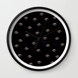 Eyeballs Pattern Wall Clock