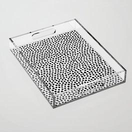 Dots Pattern Acrylic Tray