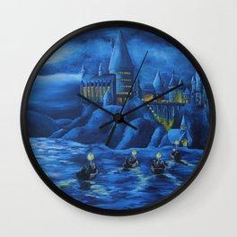 Hogwarts castle Wall Clock