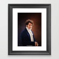 Mr Darcy Framed Art Print