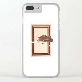 Torn Around — Bulldozer Clear iPhone Case
