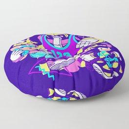 Bad Boys, Bad Boys Dark Variant Floor Pillow