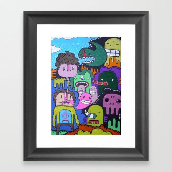 jus tha 1 Framed Art Print
