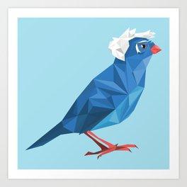 Birdie Sanders Art Print