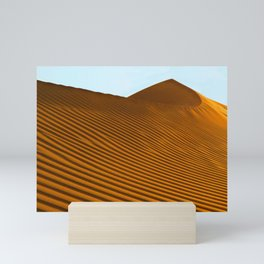Sand Dunes Sahara Desert Landscape 18 Mini Art Print