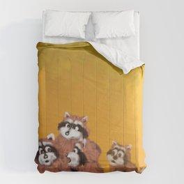 Raccoon Series: What's Going On? Comforters