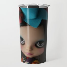 MODERN GEISHA CUSTOM BLYTHE DOLL KENNER  Travel Mug