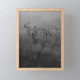 Autumn Flower Framed Mini Art Print