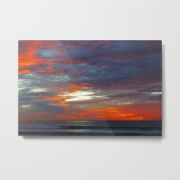 Scattered Fire Metal Print