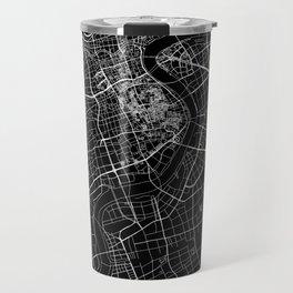 Shanghai Black Map Travel Mug