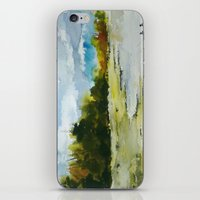 fishing iPhone & iPod Skins featuring Fishing by Baris erdem