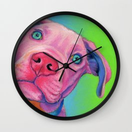 Hello, Rudy! Wall Clock