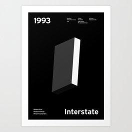 Sans Serif Vol. ¹ – Interstate Art Print