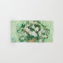 Roses, Vincent Van Gogh Hand & Bath Towel
