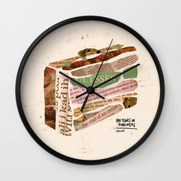 Eveline - 100 Years of Dubliners Wall Clock