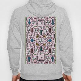 Physical Healing Icaro - Traditional Shipibo Art - Indigenous Ayahuasca Patterns Hoody