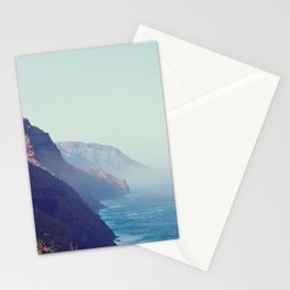 Hawaii Mountains Along the Ocean Stationery Cards
