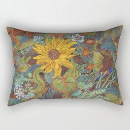 flower 2【Japanese painting】 Rectangular Pillow