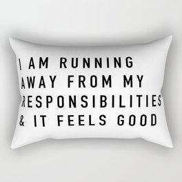 Responsibilities Rectangular Pillow