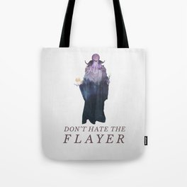 Mind Flayer (Typography) Tote Bag