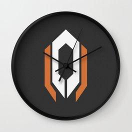 Cerberus Logo w/Hex Pattern Wall Clock