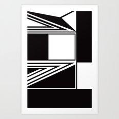 Adjacent Art Print