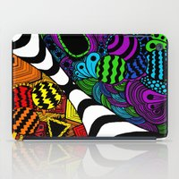 zentangle iPad Cases featuring Zentangle by Grace Thanda