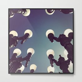 Lamp Posts I Metal Print