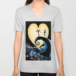 The NightmareBefore Christmas Unisex V-Neck