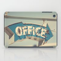 the office iPad Cases featuring Office by bomobob