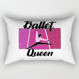 Ballet queen Rectangular Pillow