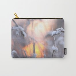 Sunny Winter Day #decor #buyart #society6 Carry-All Pouch