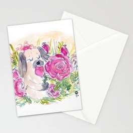Rose Loves Roses Stationery Cards