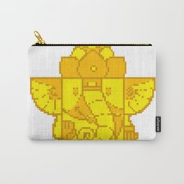 Ganesha Pixel Art Carry-All Pouch